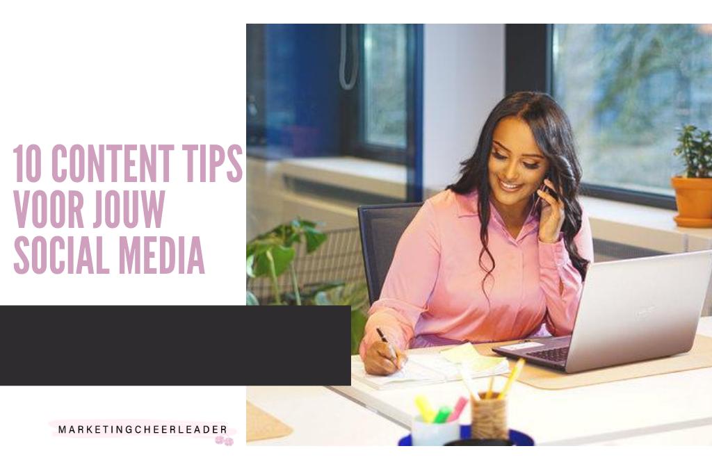 10 content tips voor jouw business